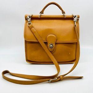 Vintage Coach Willis Crossbody Bag 9927
